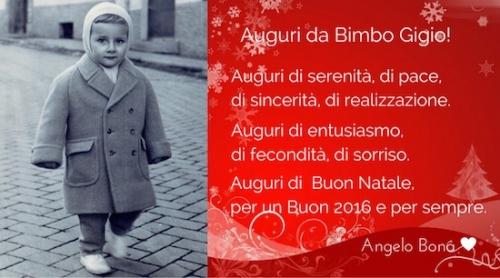 Auguri Di Buon Natale Spirituali.Un Caro Augurio Di Buon Natale Anno E Vita Da Bimbo Gigio